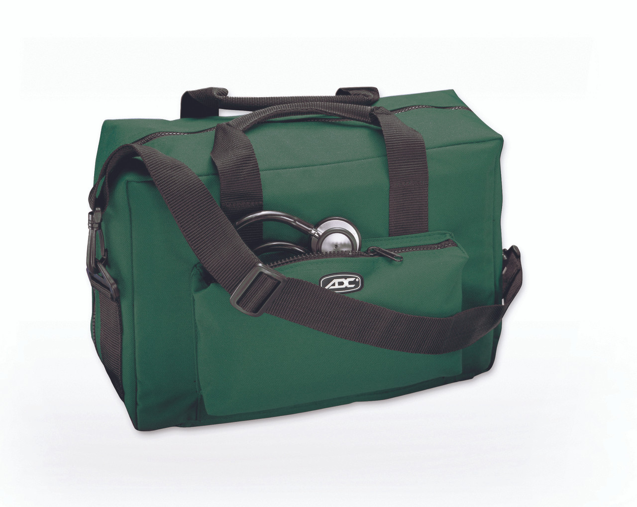 ADC Nylon Medical Bag, Dark Green