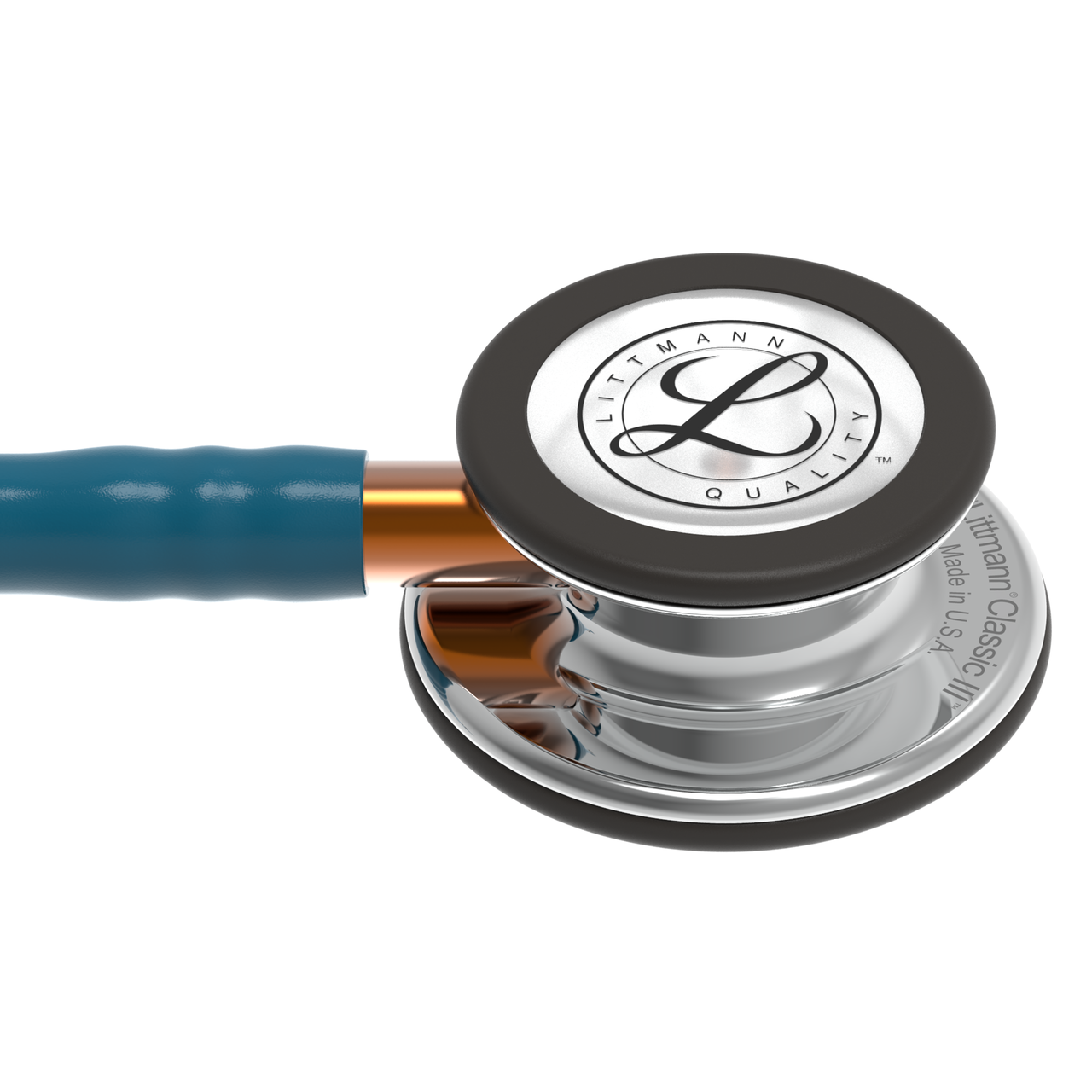 Littmann Classic III Stethoscope, Mirror Caribbean Orange, 5874