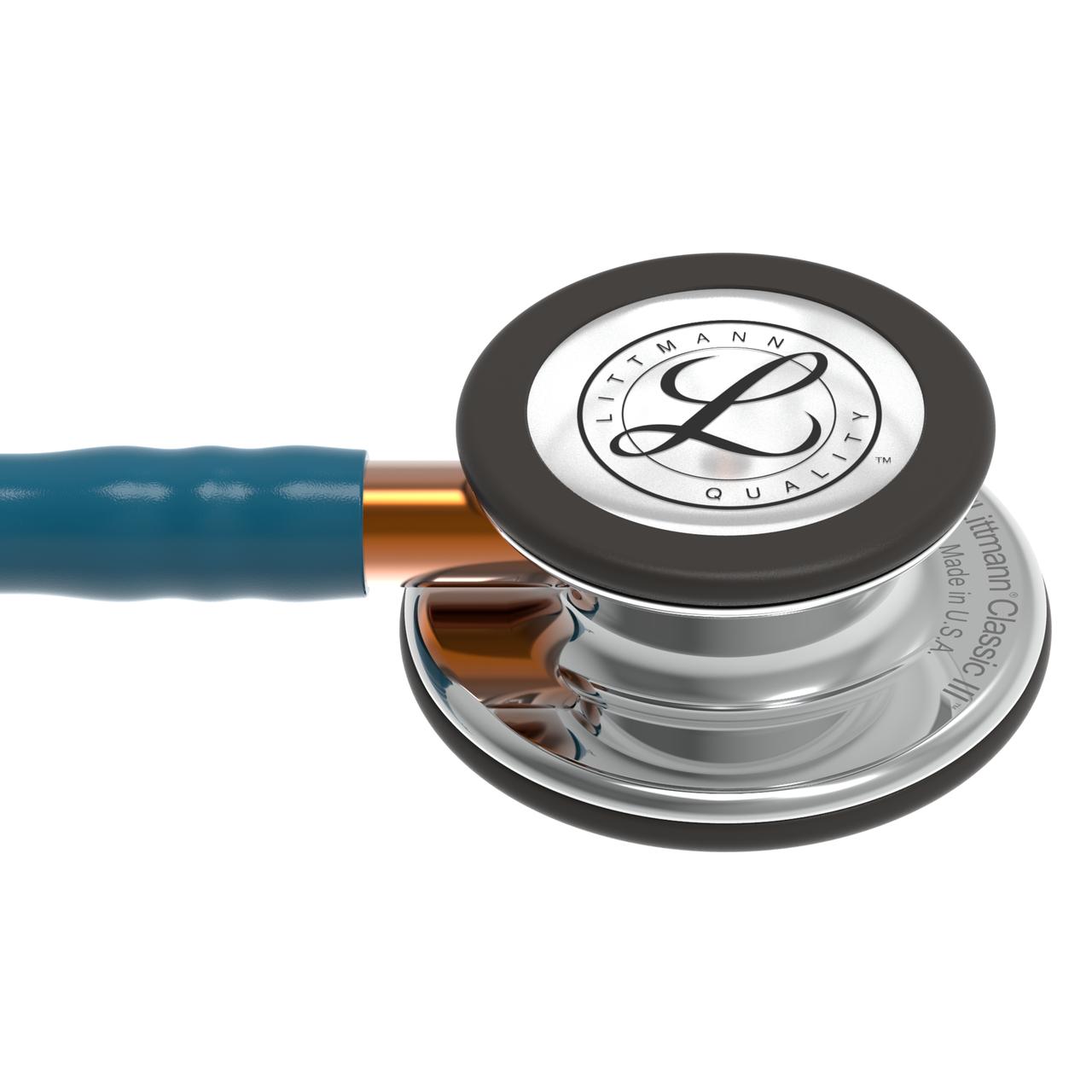 Littmann Classic III Stethoscope, Mirror Caribbean Orange, 5874