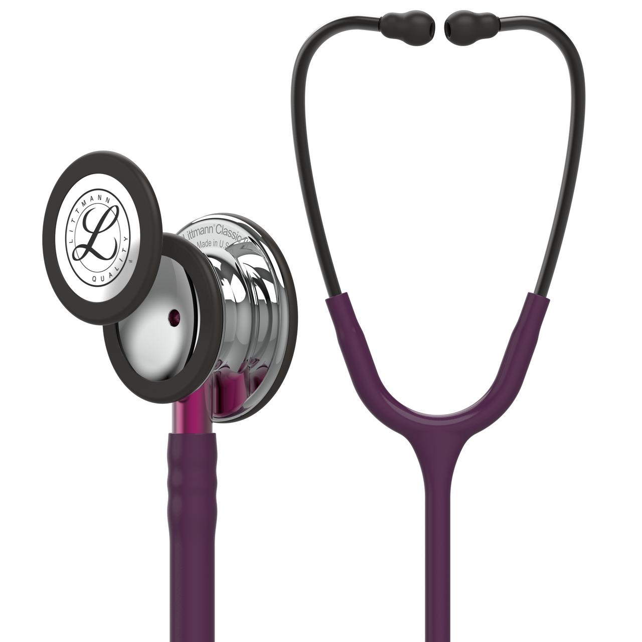 Littmann Classic III Stethoscope, Mirror Plum Pink, 5960