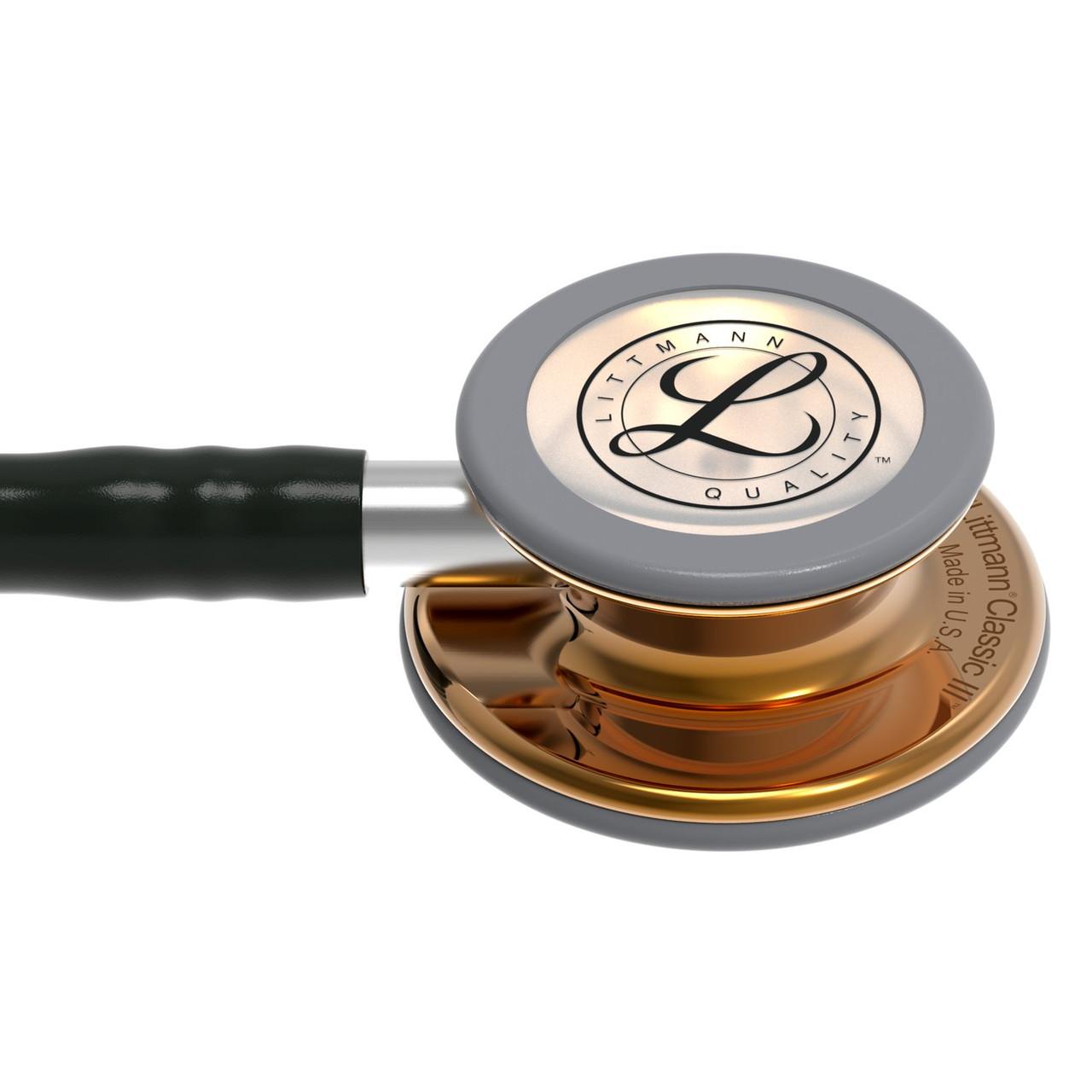 Littmann Classic III Stethoscope, Black HP Copper, 5646