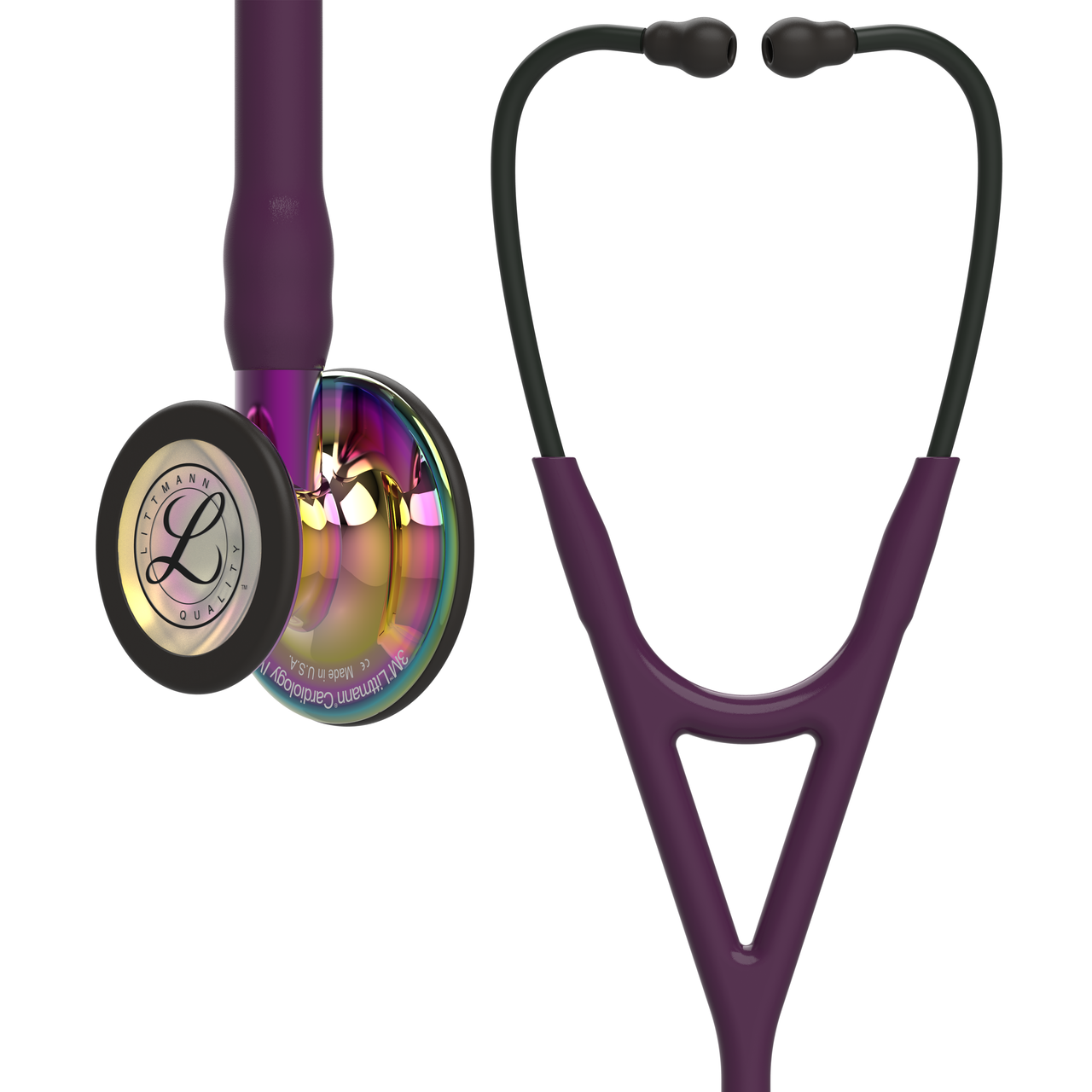 Littmann Cardiology IV Stethoscope, Rainbow Plum Violet, 6239