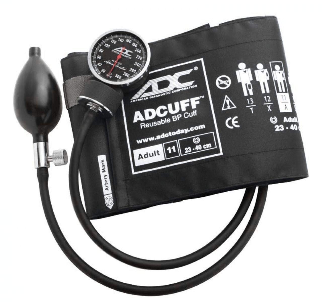 ADC 720 Diagnostix Pocket Aneroid Sphygmomanometer, Adult Cuff, 720-11ABK