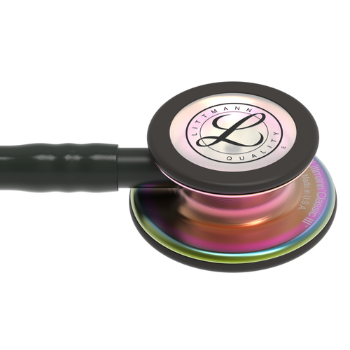 Littmann Classic III Stethoscope, Rainbow Black, 5870