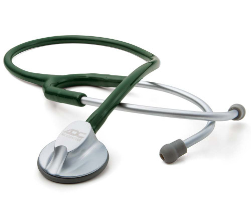 ADC 612 Lite Platinum Stethoscope, Dark Green, 612DG