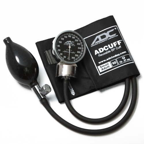 ADC 700 DIAGNOSTIX Aneroid, Small Adult Cuff, 700-10SABK