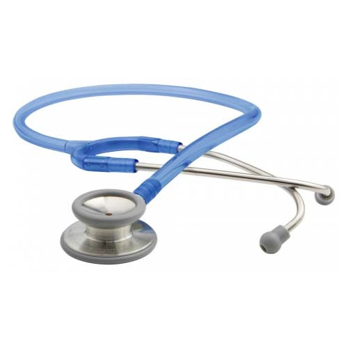 ADC 603 General Diagnostic Stethoscope, Frosted Royal Blue, 603FRB