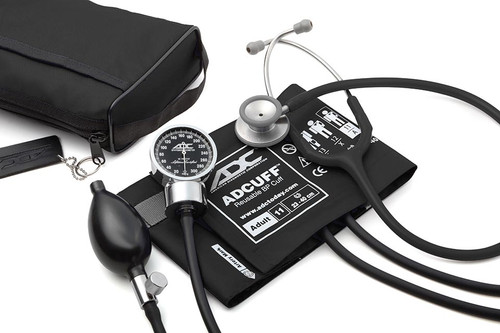 ADC Pro's Combo III Pocket Aneroid Kit, Black, 11ABK