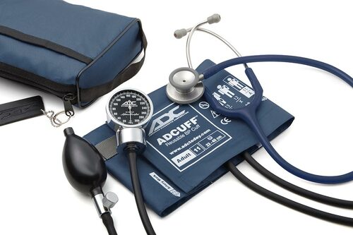 ADC Pro's Combo III Pocket Aneroid Kit, Navy, 11AN