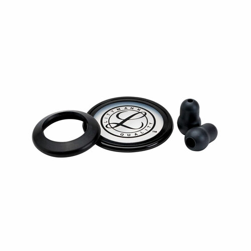 Littmann Stethoscope Spare Parts Kit, Classic II SE, Black, 40005