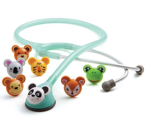 ADC 618 ADSCOPE Adimal Pediatric Stethoscope, Seafoam