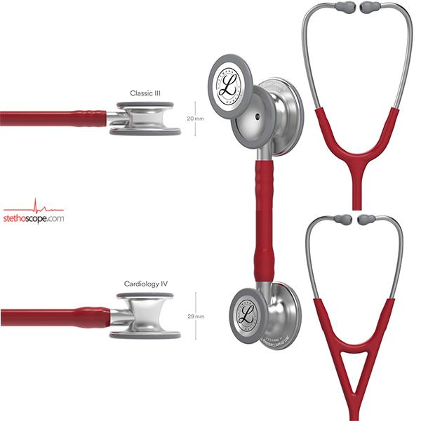 Compare Littmann Classic III Stethoscope vs Littmann Cardiology IV Stethoscope