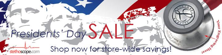 Presidents Day Storewide Sale Stethoscope.com