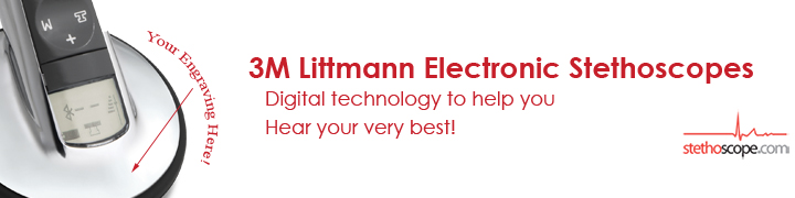 Discover Littmann Electronic Stethoscopes at Stethoscope.com