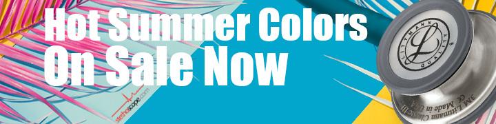 Hot Littmann stethoscope colors on sale for summer at Stethoscope.com