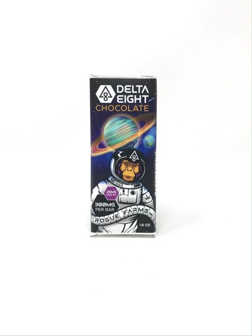 Queen Hemp Co | Delta 8 Chocolate | 300mg | Monkeynaut Milk Chocolate