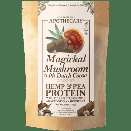 Brothers Apothecary   Magickal Mushroom Superfood   Chocolate CBD Protein Powder