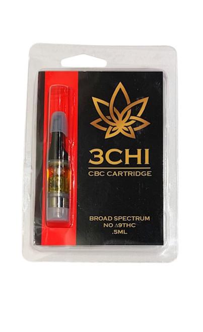 3Chi | CBC Vape Cartridge