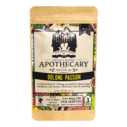 Brother's Apothecary | CBD Tea | Oolong Passion  | 60mg