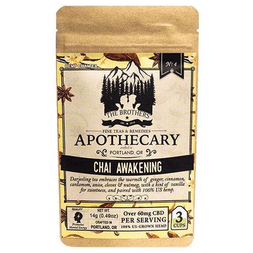 Chai Awakening | Hemp CBD Tea | No. 4