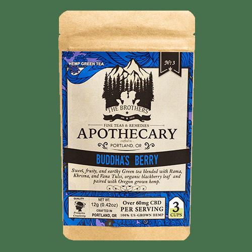 Brother's Apothecary | CBD Tea | Buddha's Berry | 60mg