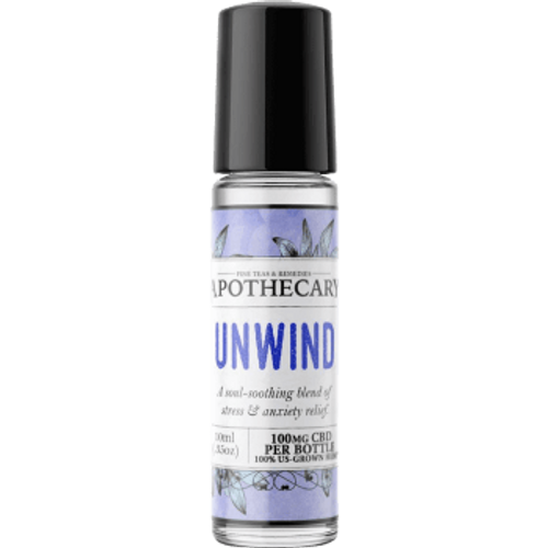 Oil roller | Unwind | 100mg CBD