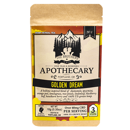 Golden Dream | Hemp CBD Tea | No. 1