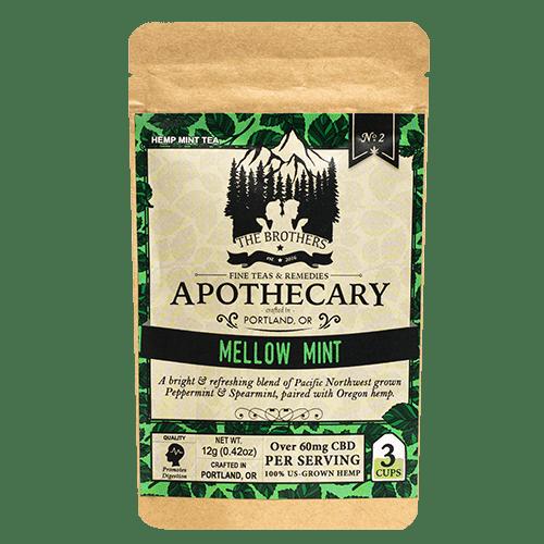 Brothers Apothecary | Mellow Mint | Hemp CBD Tea | No. 2