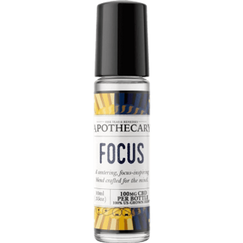 Brothers Apothecary | Focus | Oil Roller | 100mg CBD
