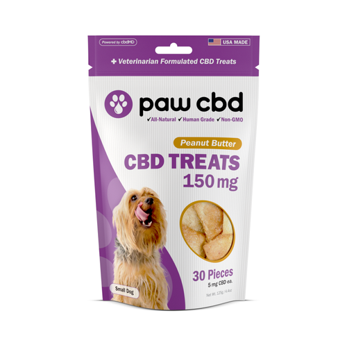 PawCBD | Dog Treats | 150mg | 5mg each | 30 pieces