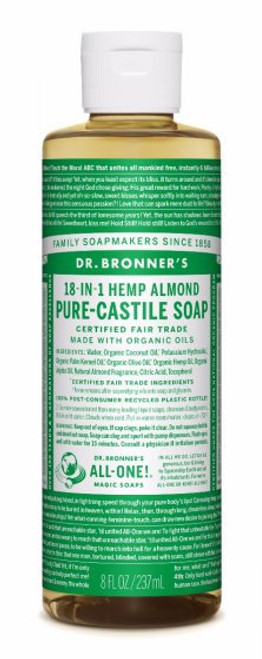 Almond Pure-Castile Liquid Soap | 8oz
