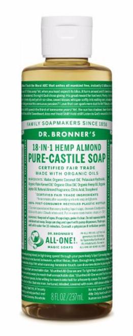Dr. Bronner's | Castille Liquid Soap | Almond
