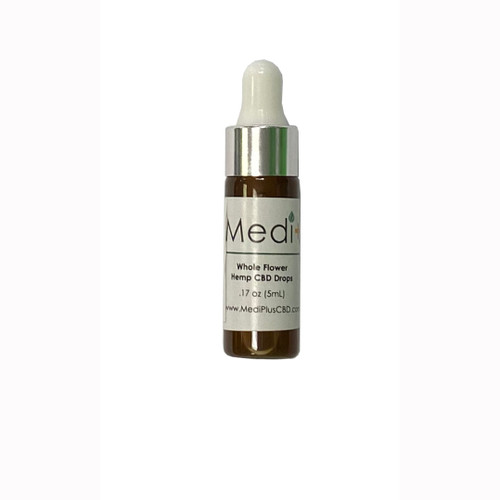 Medi+ Pure Whole Flower CBD Drops .5mL