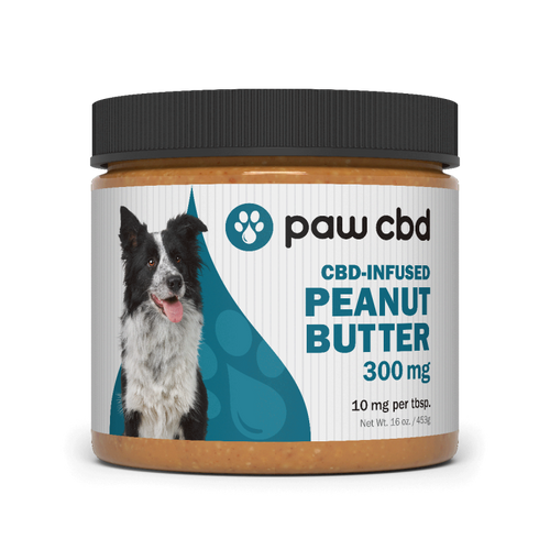 Paw CBD | Peanut Butter | 300mg | 16oz Jar