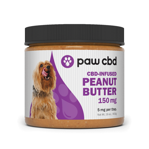 Paw CBD | Peanut Butter | 150mg | 16oz Jar