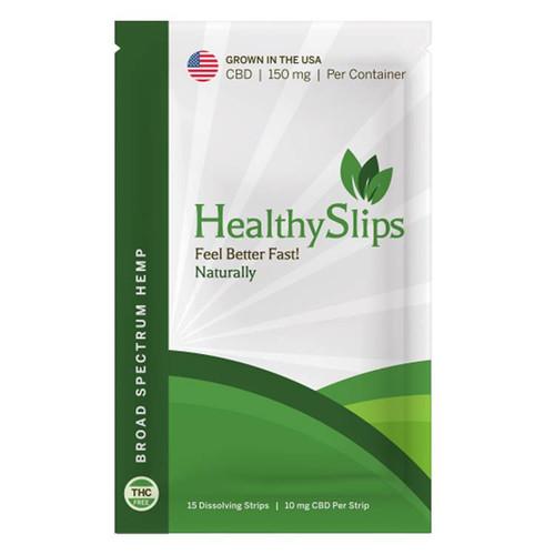 Healthy Slips   Dissolvable CBD