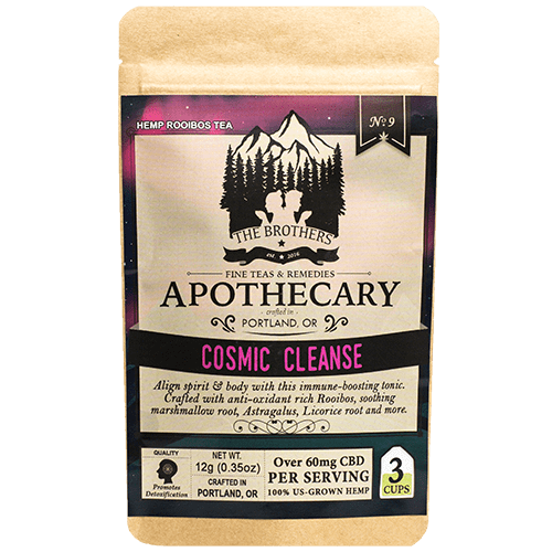 Cosmic Cleanse | Hemp CBD Tea | No. 1