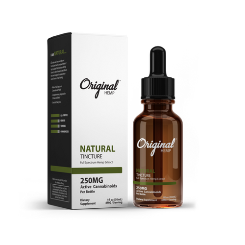 Original Hemp | Tincture| Natural | 250mg | 30ml