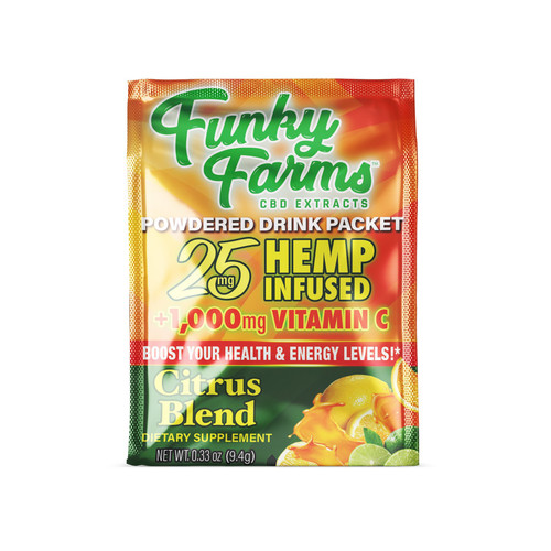 Funky Farms | Drink Packet | Citrus Blend | 25mg | Single Packet