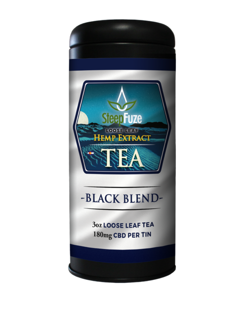SteepFuze | CBD Tea | Black Blend | 180mg