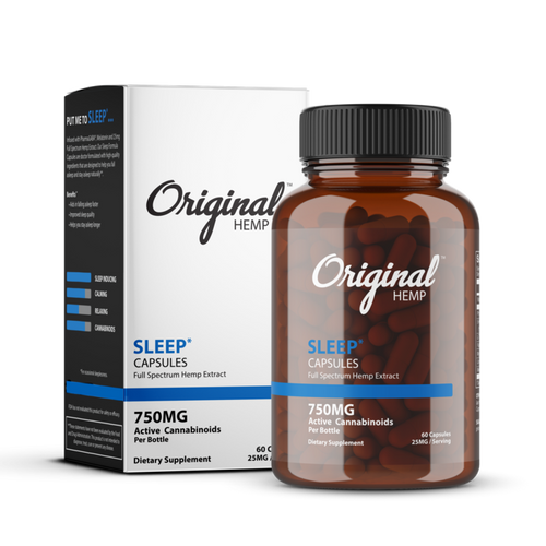 Originl Hemp | Sleep Capsules | 25mg