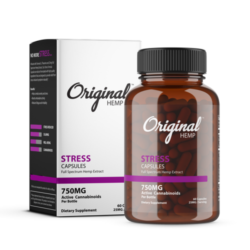 Originl Hemp | Stress Capsules | 25mg