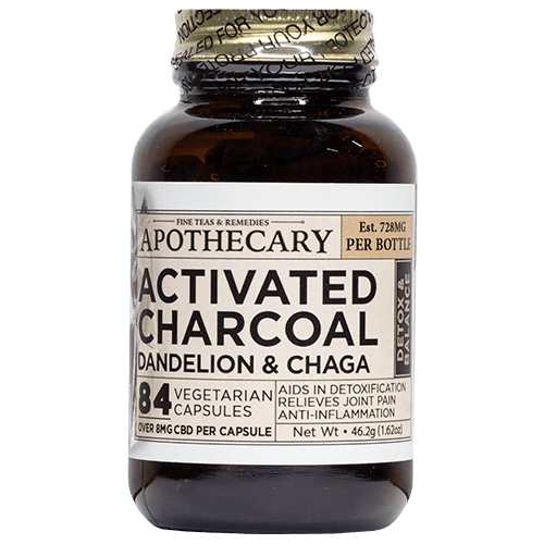 Brothers Apothecary | Cleanse | CBD + Activated Charcoal, Dandelion & Chaga