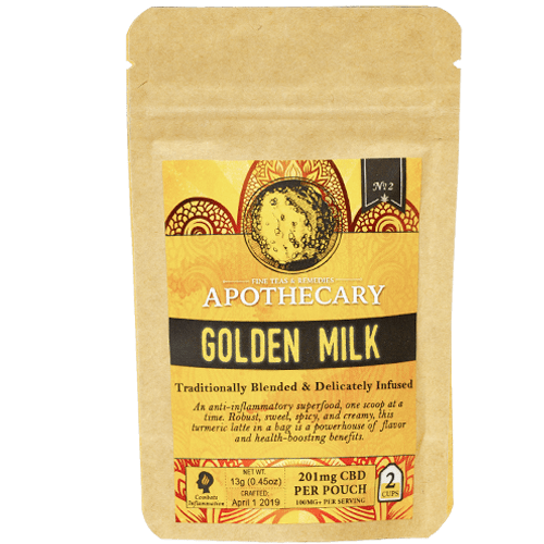 Golden Milk | CBD Golden Milk Turmeric Latte