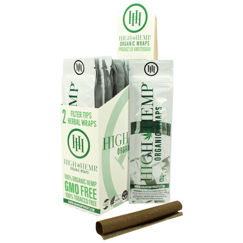 High Hemp | Organic Wraps | 2/pouch