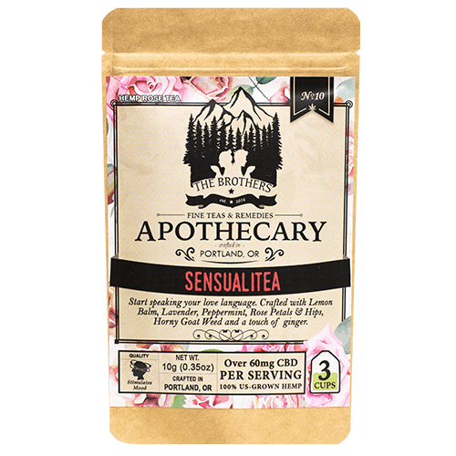 Sensualitea | Hemp CBD Tea | No. 10