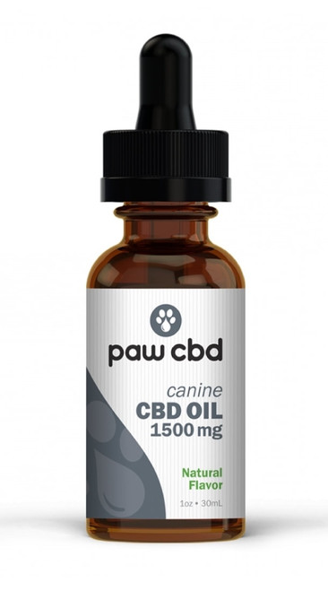 Paw CBD | Dog | 1500mg | Natural OR Peanut Butter