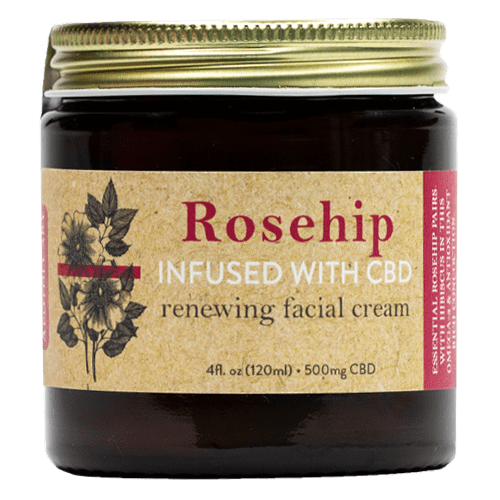 Brothers Apothecary | Renew CBD Face Cream | Rosehips, Hibiscus & Aloe CBD Cream