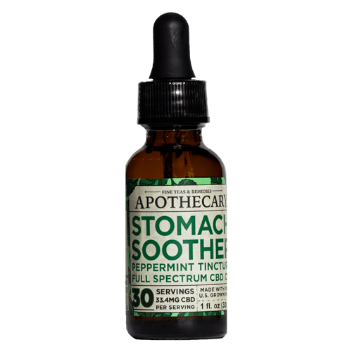 Brothers Apothecary | Stomach Soother | Peppermint Tincture | Full Spectrum | 1000mg