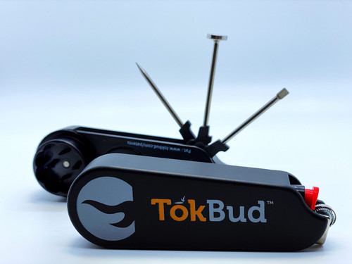 TokBud | Ultimate Smoker's Utility Tool